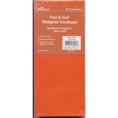 100 Units of Peel & seal Designer Envelopes 25ct