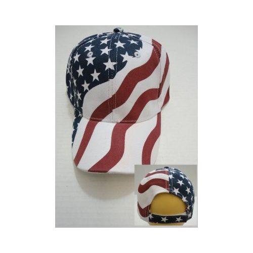 24 Units of American Flag Ball Cap - Hunting Caps - at - alltimetrading.com 065fb917ff78