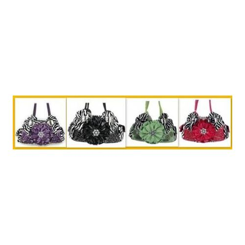 36 Units of Rhinestone Flower Purses With Two handles - Leather Purses and  Handbags - at - alltimetrading.com 7c8cc9c80dc50