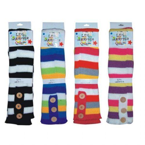 144 Units of WINTER Leg Warmer Stripes