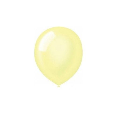 "40 Units of Fat Toad 72CT 12"" Pearl Yellow - Balloons/Balloon Holder"