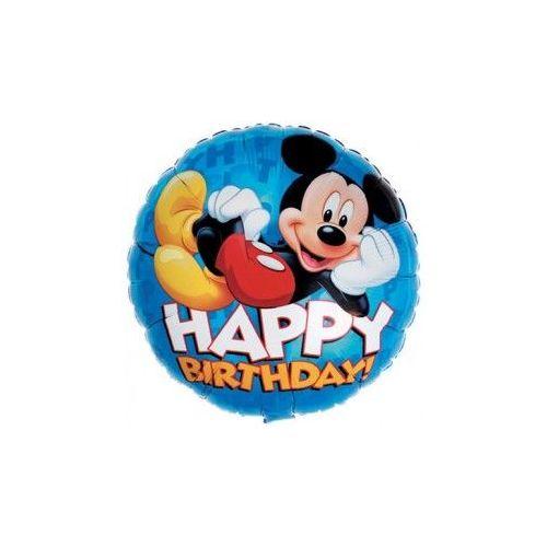 "100 Units of Mylar 18"" LC-Mickey Happy B-Day - Balloons/Balloon Holder"