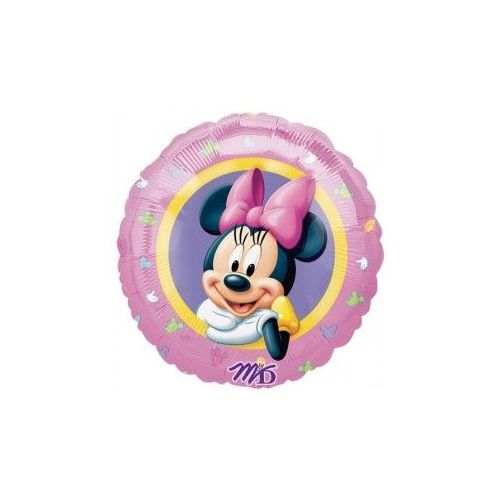 "100 Units of Mylar 18"" PKG LC-Minnie Portrait"