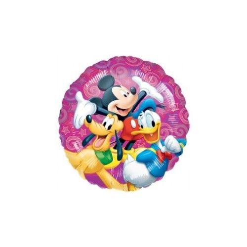 """100 Units of Mylar 18"""" PKG LC-Disney Celebration Pkg"""