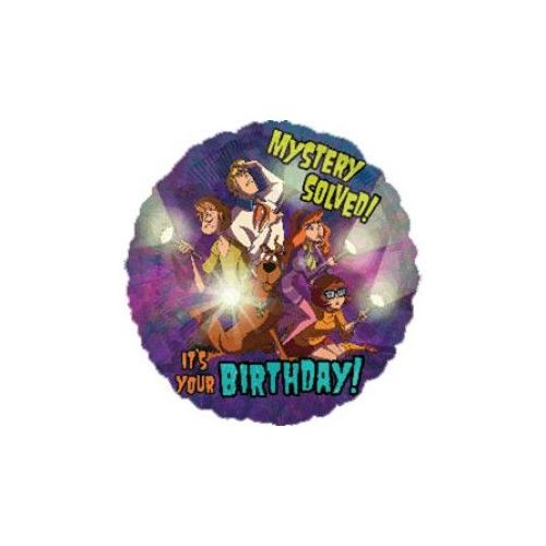 100 Units of AG 18 PKG LC Scooby Birthday - Balloons/Balloon Holder