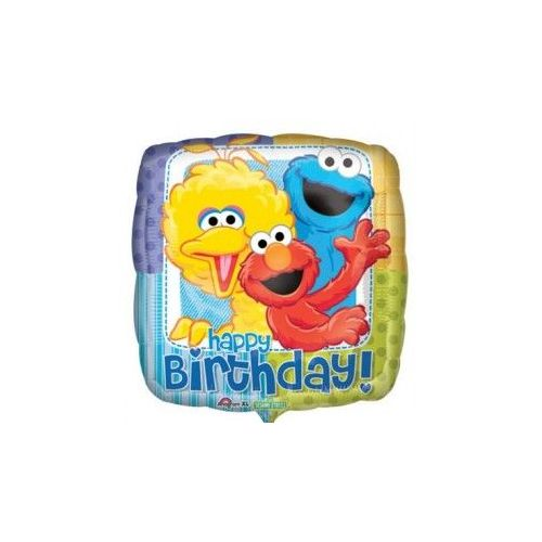 100 Units of AG 18 Pkg LC Sesame Street B-Day