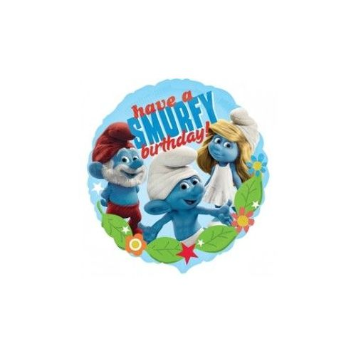100 Units of AG 18 Pkg LC Smurfs H B-Day