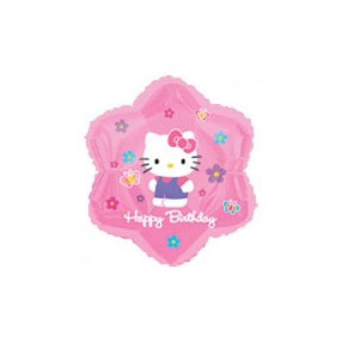 100 Units of AG 18 PKG LC Hello Kitty Flower&Bf - Balloons/Balloon Holder