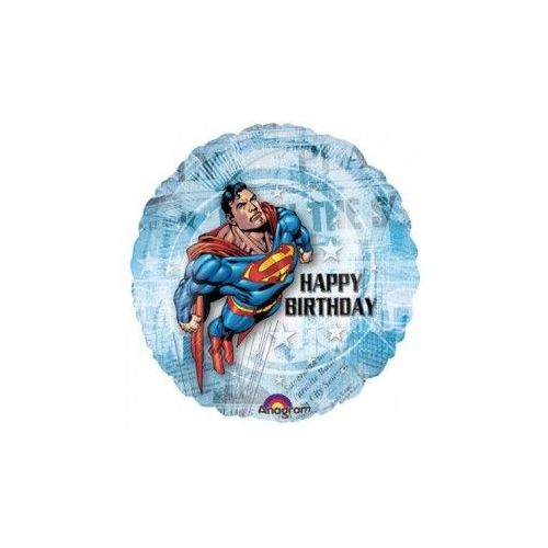 100 Units of AG 18 LC H B-Day Superman - Balloons/Balloon Holder