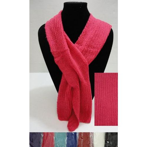 Knitting Pattern For Pull Through Scarf : 72 Units of Knitted Pull-Through Scarf - at ...