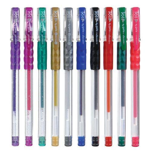 100 Units of Geddes EZ Gels Pen Assortment - PENS