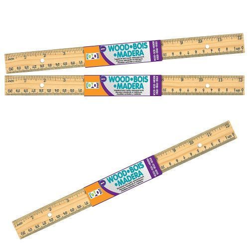 144 Units Of Home Office 1 Ct 12 Inch Wooden Ruler Rulers