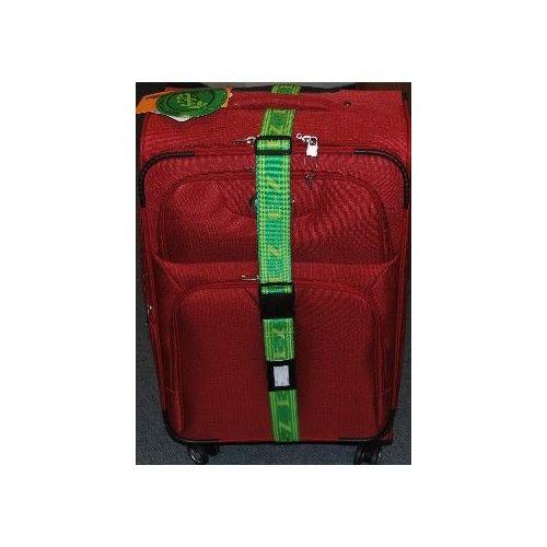 "36 Units of ""E-Z"" Luggage Strap-Green/Yellow"
