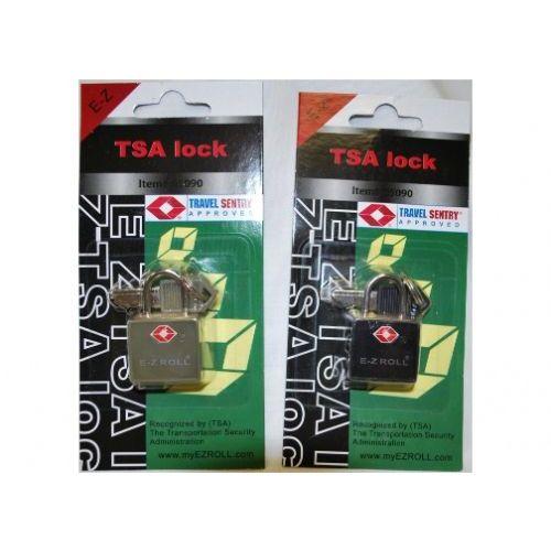 "48 Units of ""E-Z"" TSA padlock Dark Green"
