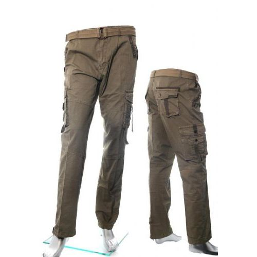 12 Units of Men's Fashion Cargo Pants 100% Cotton Size Scale B Only