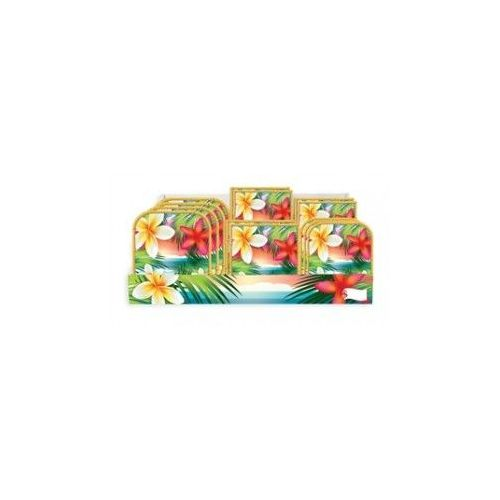 Tropical Parads Pre-Pck Ctr Ship 96 Ct - Party Tableware
