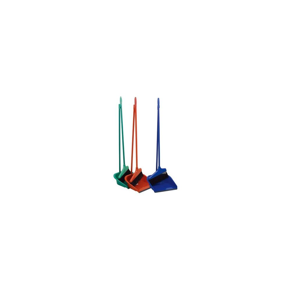 """24 Units of Dustpan with/Broom,33""""High"""