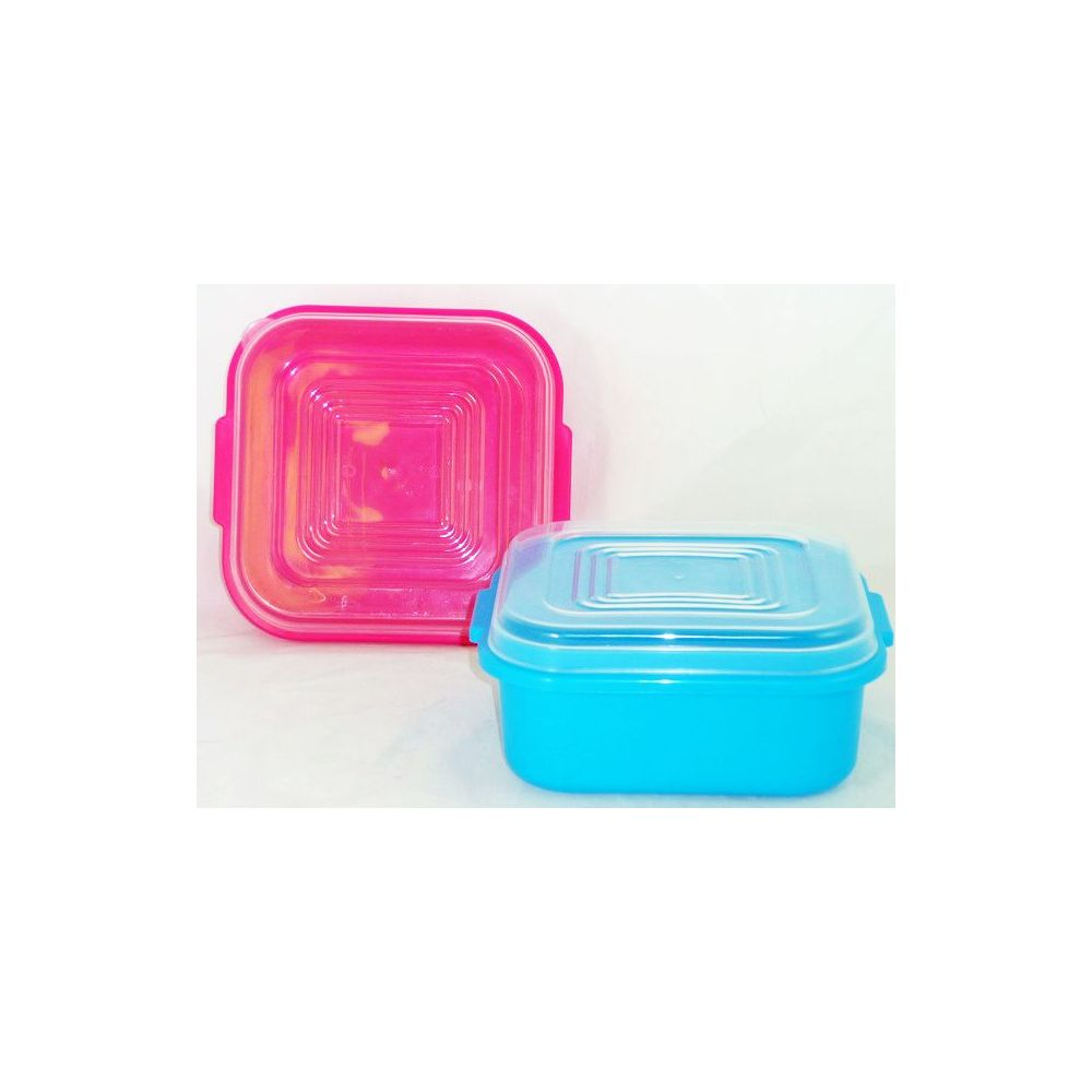 48 Units of square storage containers wclear lid Food Storage