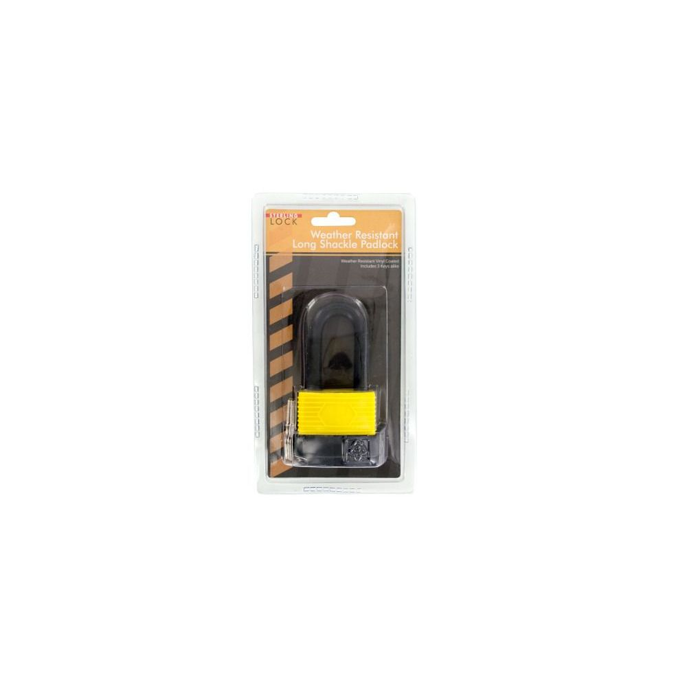 12 Units of Wholesale 50mm waterproof laminated padlock