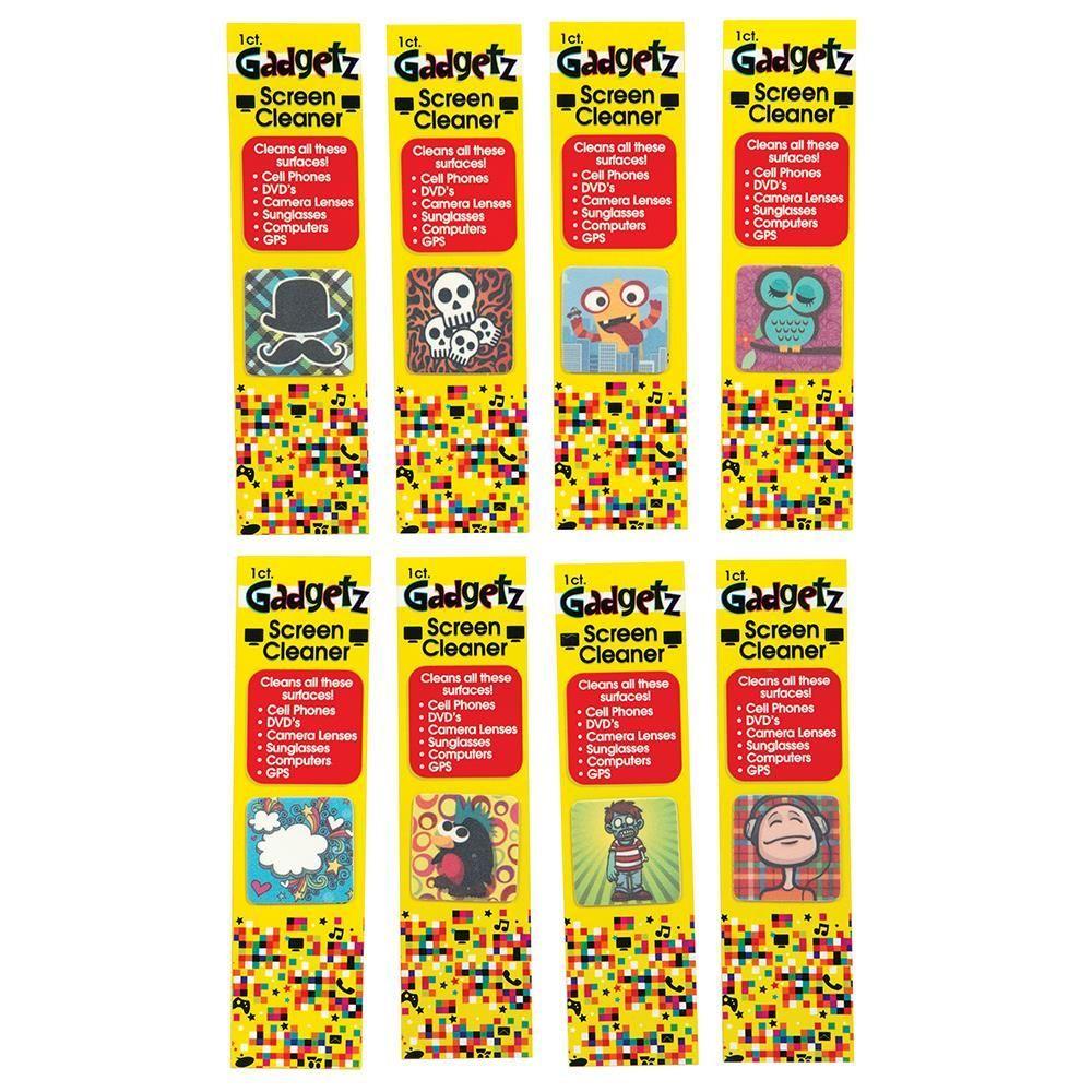 100 Units of Gadgetz Screen Cleaner Cloth