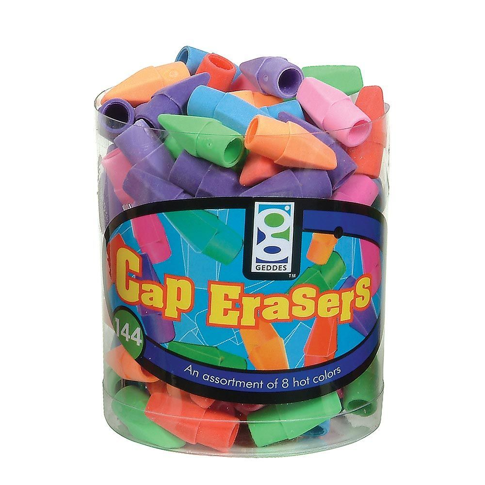 Geddes Cap Eraser 2880 Piece pack