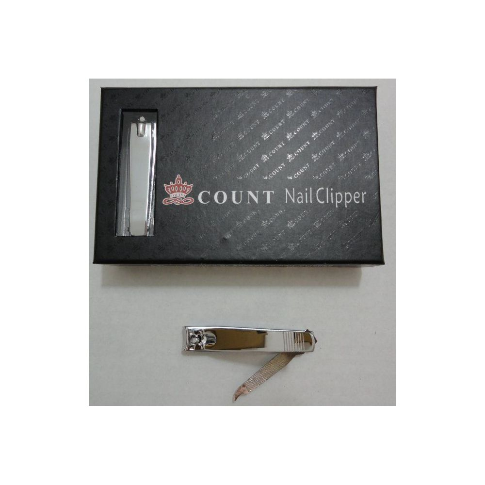 24 Units of 1pc Large Nail Clippers in Box - Cosmetics