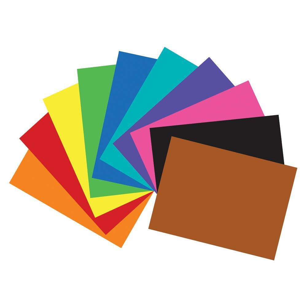 """100 Units of 22"""" X 28"""" Assorted Color Poster Board"""