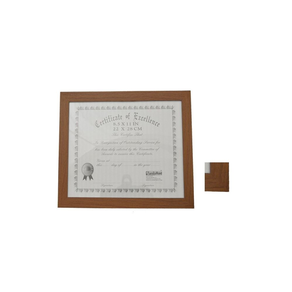 24 Units of CERTIFICATE FRAME 8.5X11\