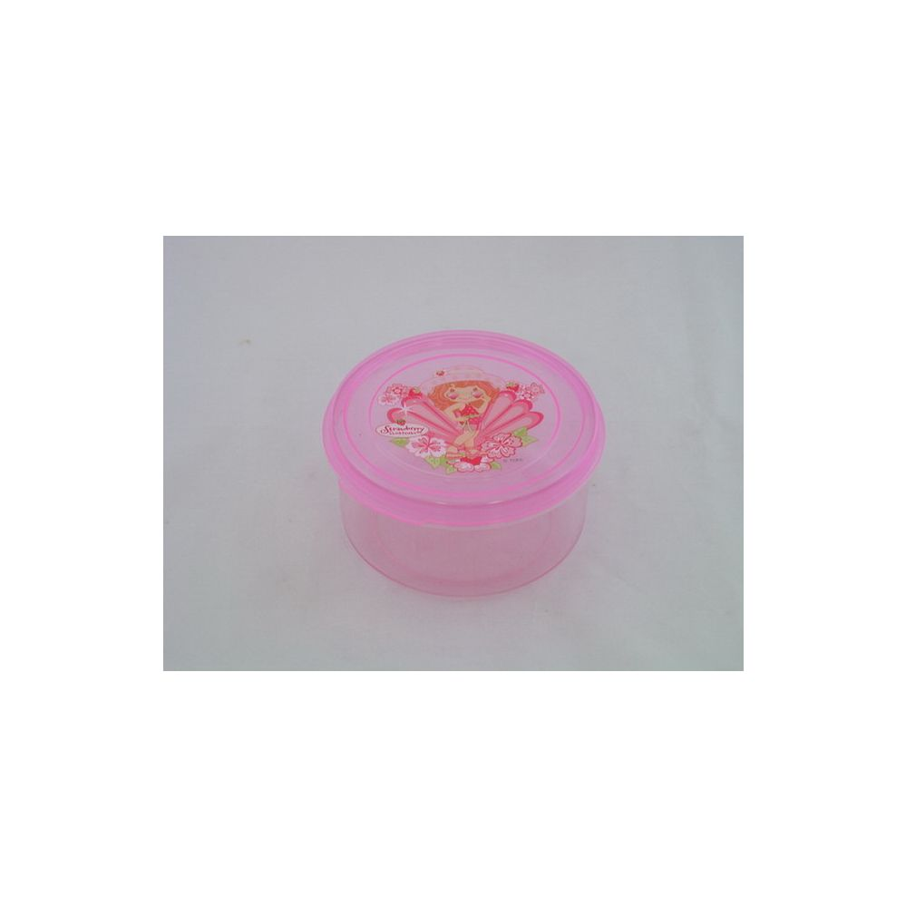 108 Units of CONTAINER ROUND 1PC SHRINK - STORAGE HOLDERS/ORGANIZERS