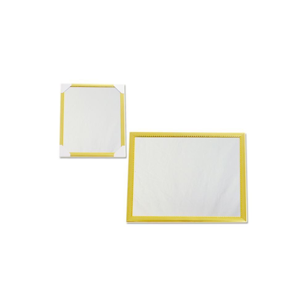 """72 Units of MIRROR 10"""" X12"""" GOLD &SILVER - Mirrors"""