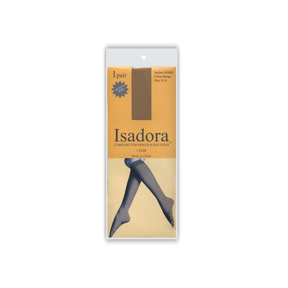 120 Units of 1 Pack Isadora Sheer Knee High
