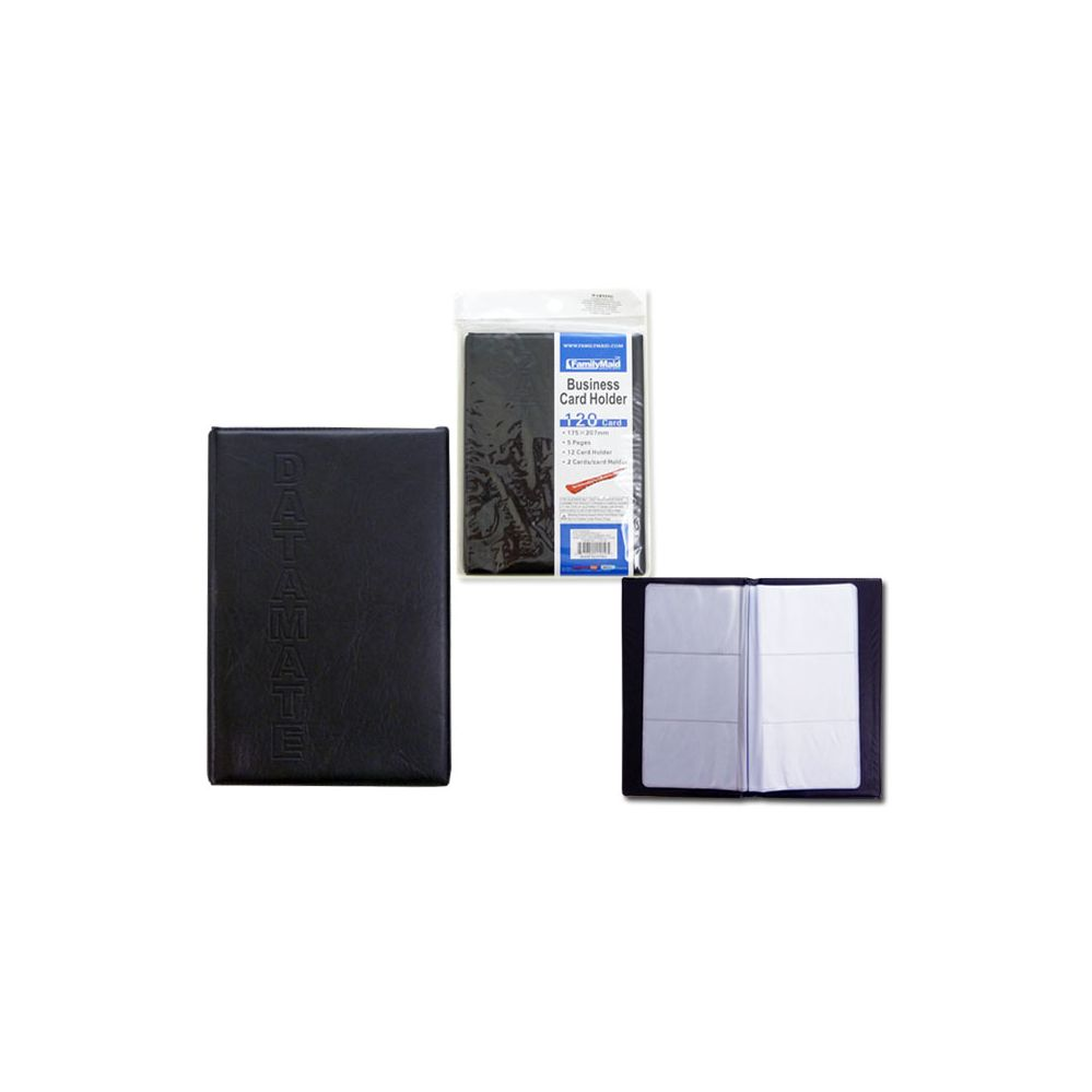 96 Units of Business Card Book, 120 Cards - CARD HOLDERS/ADDRESS ...