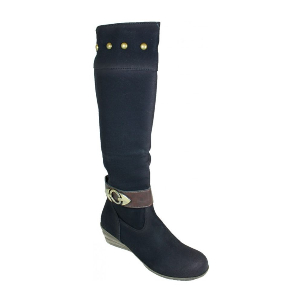 10 Units of Ladies Long Fashion Winter Boots In Black