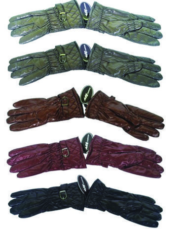 60 Units of Womens Gloves with Faux Fur inside 60 Pairs - Winter Gloves