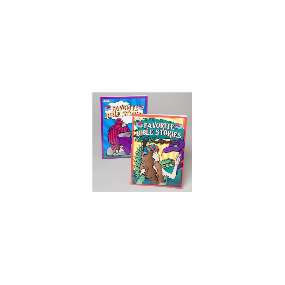 24 Units Of Coloring Book My Favorite Bible Stories Asst
