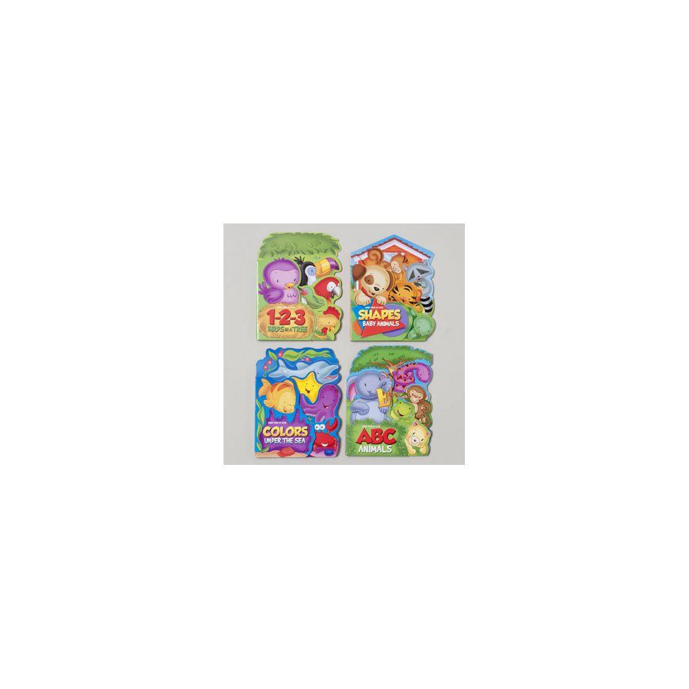 96 Units of Fan Tab U Lus Board Books 4 Asst Colors,numbers,letters ...
