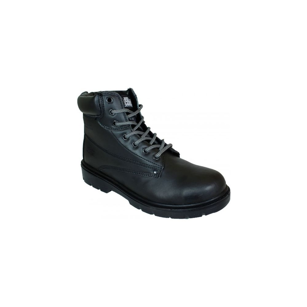 10 Units of Mens Steel toe cap and midsole Boot In Black - Mens Work Boots