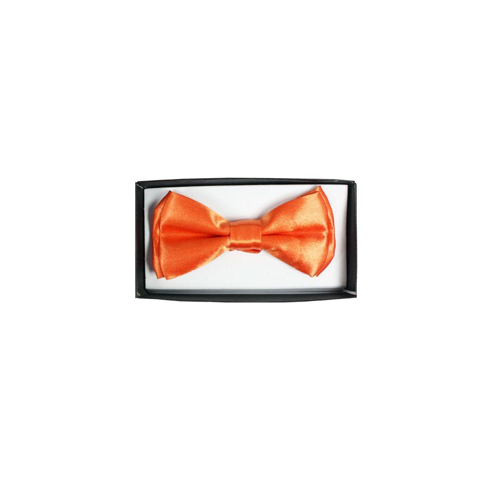 96 Units of Kid's Bowtie in Orange - Neckties