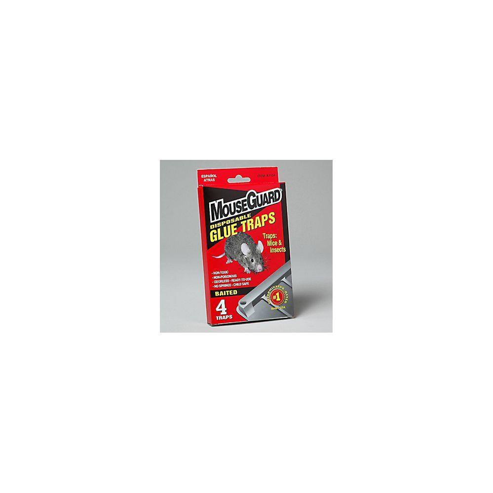 96 Units of Mouse Glue Traps 4 Pk
