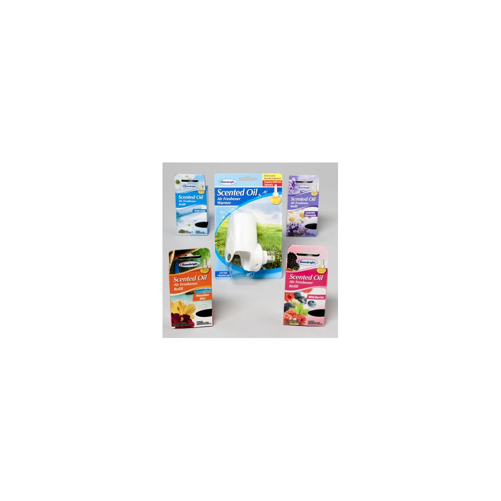 Air Fresheners Warmer And Oil 96 Pc Floor Display - Air Freshener