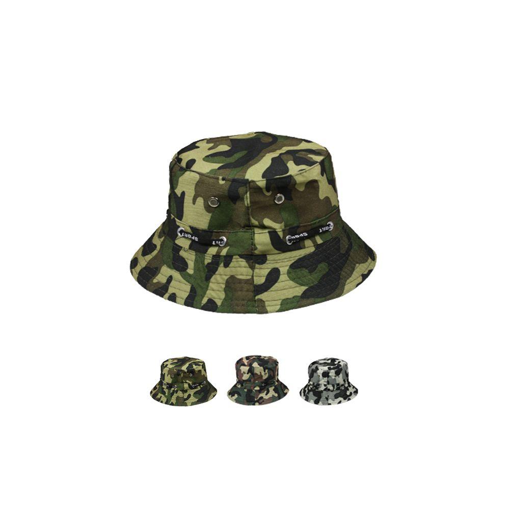 2426654f307 24 Units of Camo Summer Bucket Hat - Bucket Hats - at - alltimetrading.com