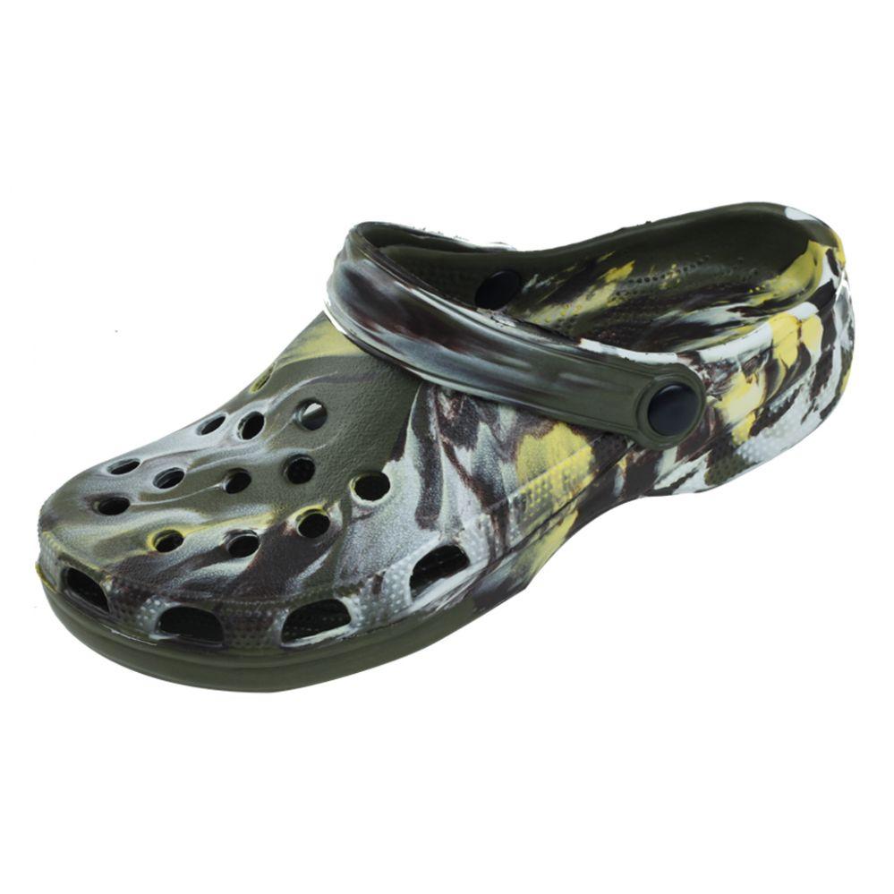 36 units of mens tie dye garden shoes mens flip flops - Mens Garden Shoes