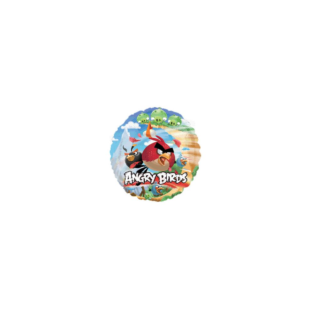 100 Units of AG 18 LC Angry Birds - Balloons/Balloon Holder