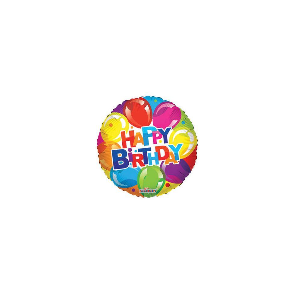 100 Units of CV 18 DS B-Day Shiny Balloons - Balloons/Balloon Holder