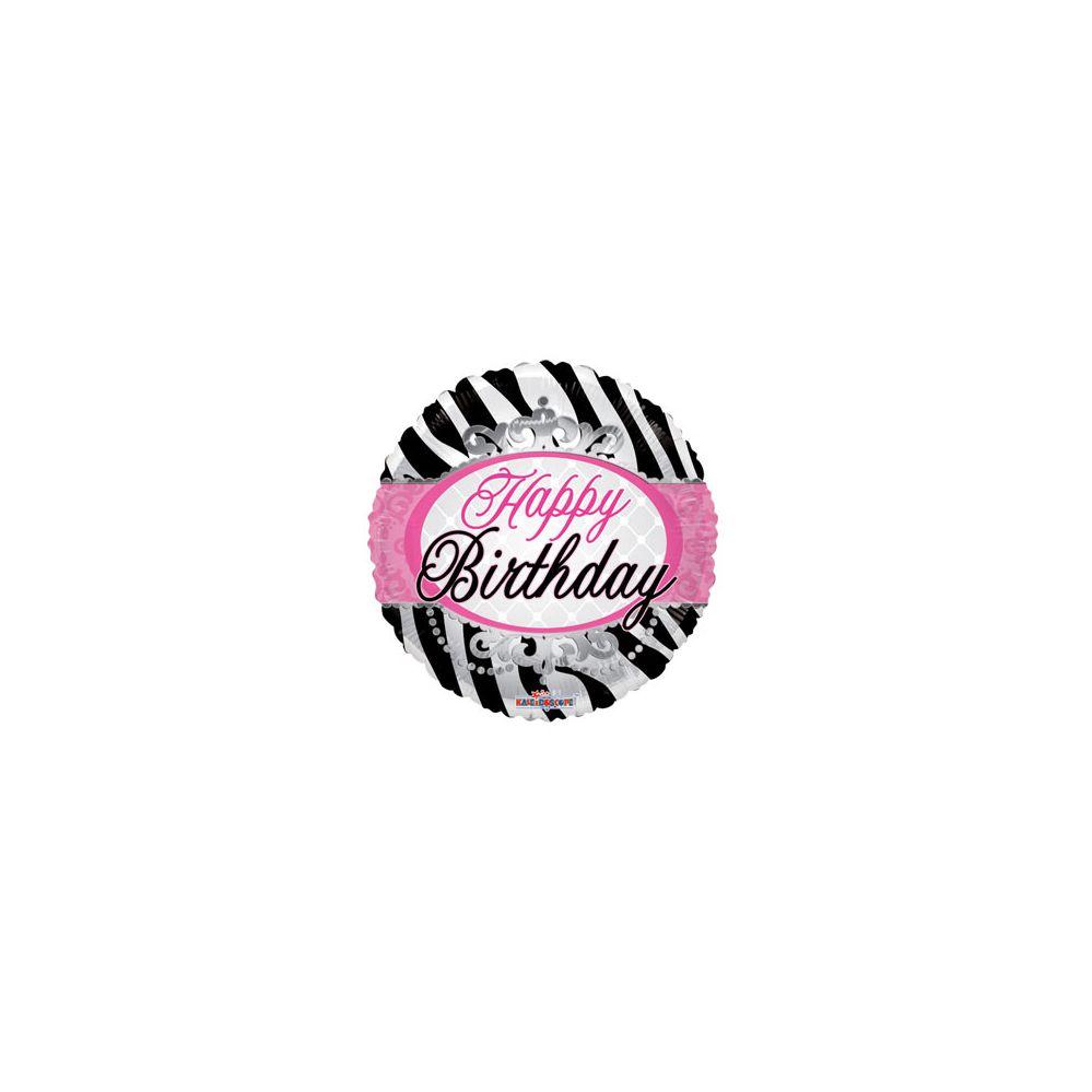 100 Units of CV 18 DS SV Birthday Zebra Print