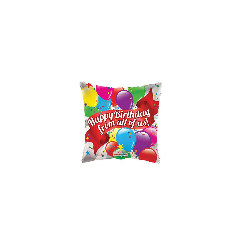100 Units of CV 18 DS HBD From All Of Us - Balloons/Balloon Holder