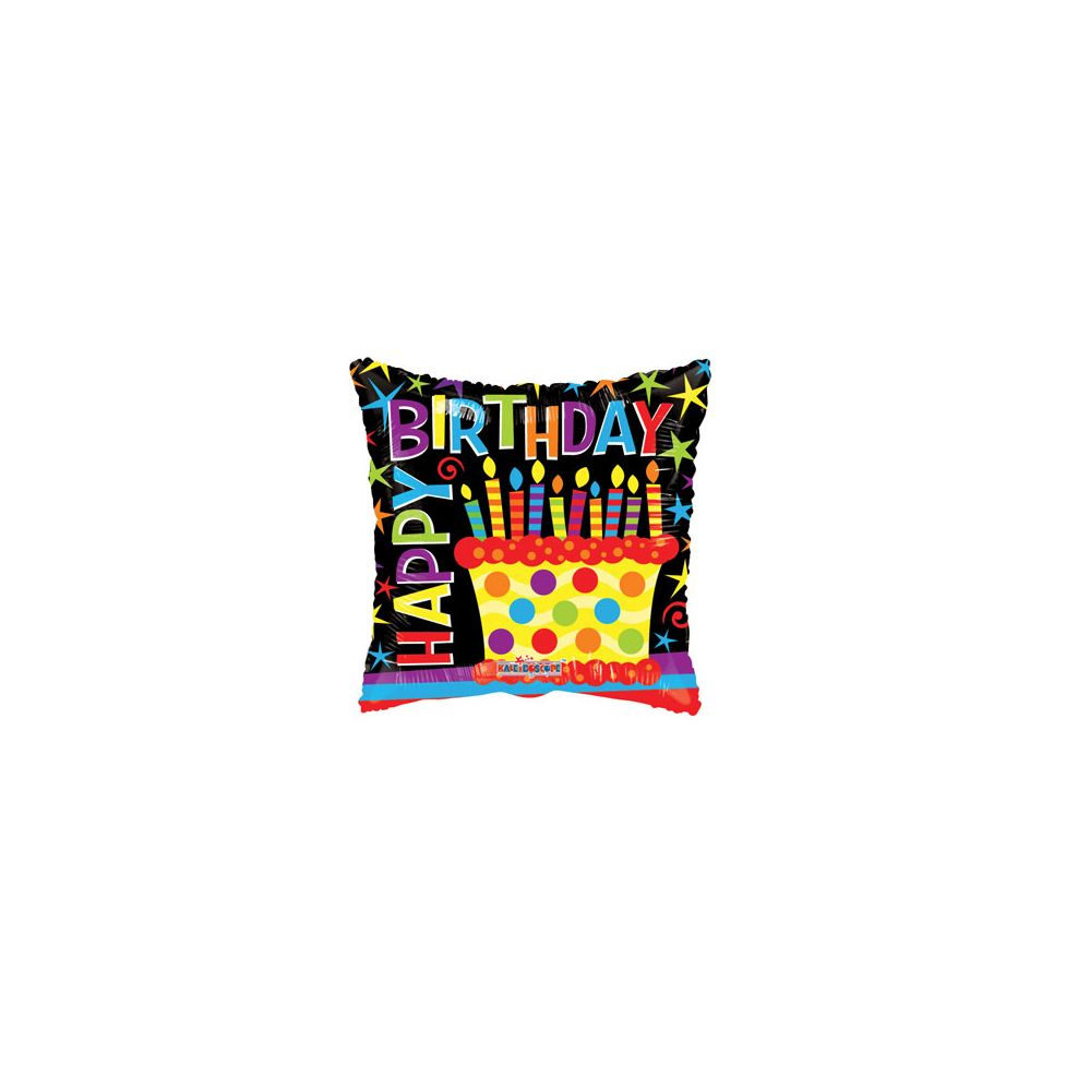 100 Units of CV 18 DS H B-D Cake Square - Balloons/Balloon Holder