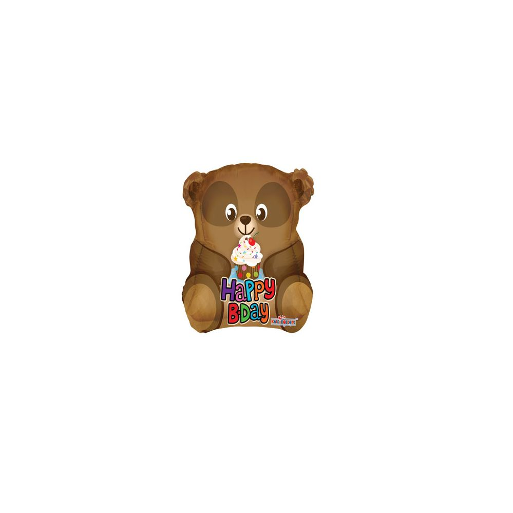 100 Units of CV 18 DS H B-Day Bear Shape