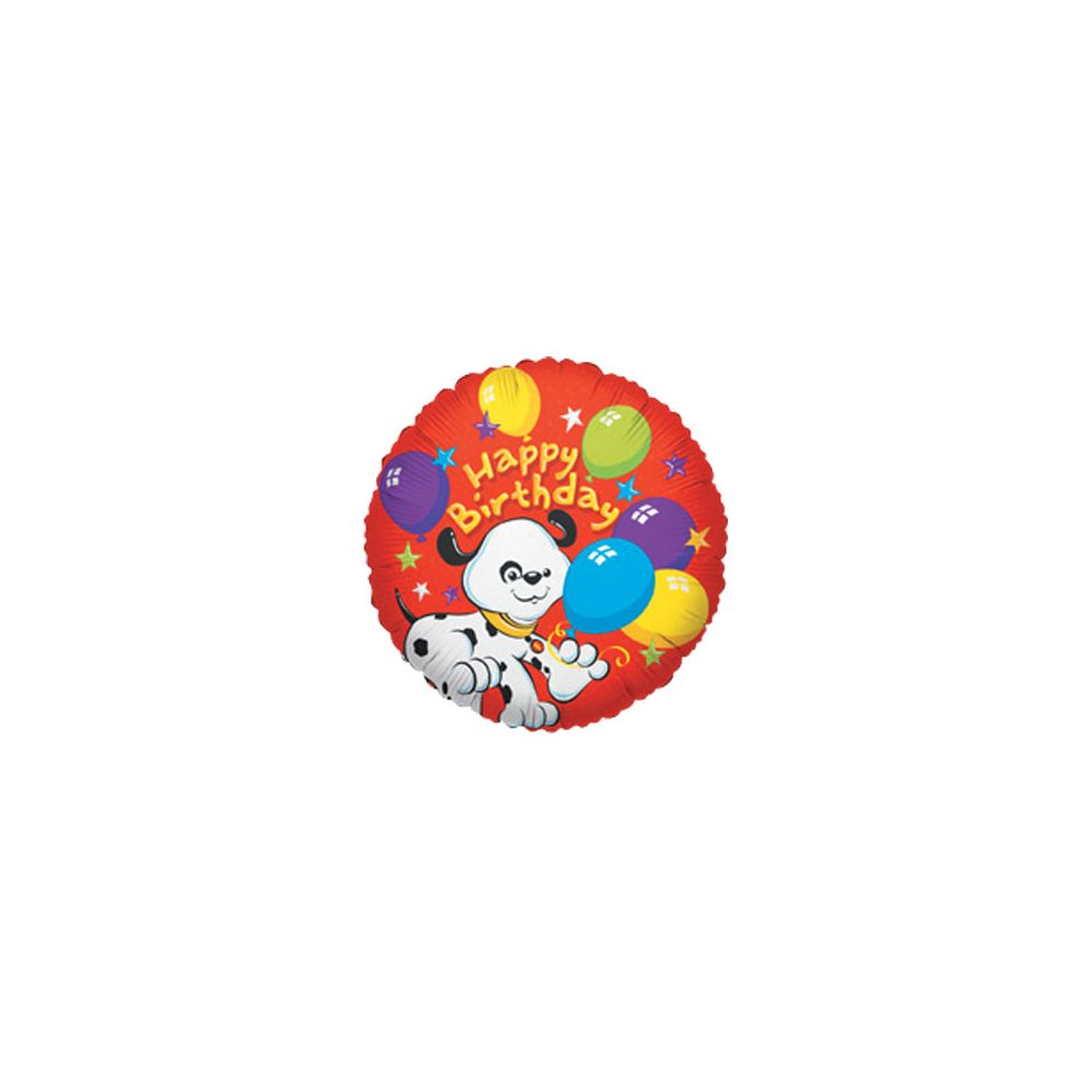 100 Units of CV 18 SS H B-day Dog w/Balloons