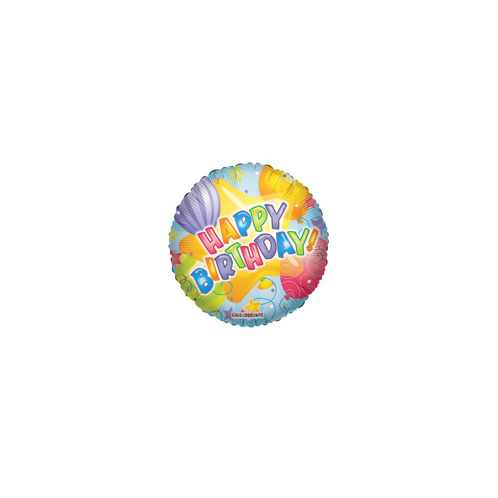 100 Units of CV 18 SS B-day Patterned - Balloons/Balloon Holder